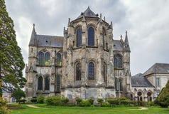 Abteiheiliges Leger, Soissons, Frankreich Stockbilder