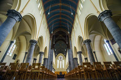 Abteikathedraleninnenraum Stockbilder