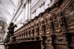Abteikathedraleninnenraum Lizenzfreies Stockbild