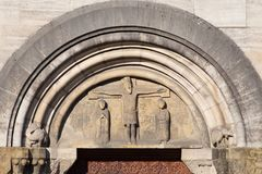 Abteikirche Lizenzfreies Stockbild