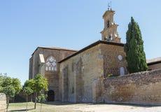 Abteikloster in Canas, Rioja Stockfotos