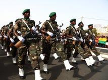 Abteilung der Armee von Angola Stockfotos