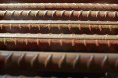 Abteilung der rostigen Eisenstange Lizenzfreie Stockbilder