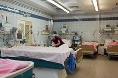 Abteilung der thermischen Verletzung des St- PetersburgForschungsinstituts von Notmedizin Lizenzfreie Stockbilder