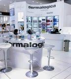 Abteilung des Supermarktes des Cosmetology n Ahlens Stockfotografie