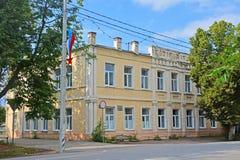 Abteilung REGISTERAMT in der Mitte von Pereslavl-Zalessky, Russland Stockbild