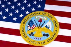 Abteilung Vereinigter Staaten der Armee Stockfoto