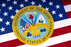 Abteilung Vereinigter Staaten der Armee Lizenzfreie Stockbilder