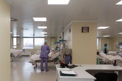 Abteilung von Notkardiologie des St- PetersburgForschungsinstituts von Notmedizin Stockfotos