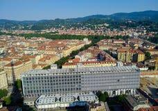 Abteilung von Philosophie-und Bildungs-Wissenschaften - Turin - Italien Stockbild