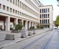 Abteilung von Physik, Universität von Coimbra Stockfotos