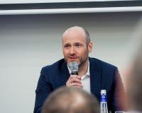 IT-Abteilung von Regierungsdirektor Vladislav Fedulov der Russischen Föderation stockfotografie