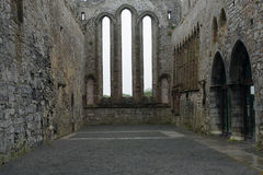 Abteiruinen, Ardfert, Irland Lizenzfreie Stockbilder