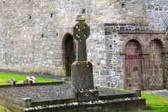 Abteiruinen, Ardfert, Irland Lizenzfreie Stockfotografie