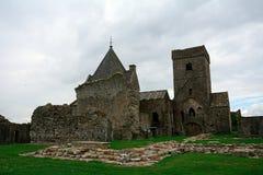 Abteiruinen, Inchcolm-Insel, Schottland Lizenzfreie Stockfotografie
