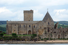 Abteiruinen, Inchcolm-Insel, Schottland Stockfotografie