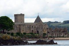 Abteiruinen, Inchcolm-Insel, Schottland Stockfoto