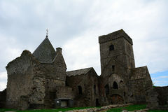 Abteiruinen, Inchcolm-Insel, Schottland Stockbilder