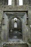 Abteiruinen, Quin, Irland Stockfotos