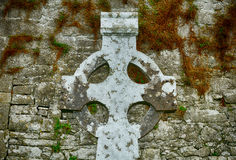 Abteiruinen, Quin, Irland Stockbild