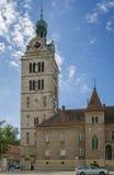 Abteiturm St. Emmeram, Regensburg Stockfotografie