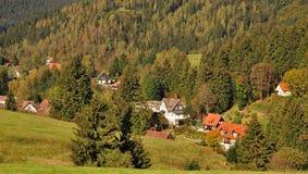 Abtenau, Harz Berge, Deutschland Stockbilder