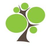 abtract δέντρο εικονιδίων Στοκ φωτογραφία με δικαίωμα ελεύθερης χρήσης