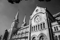 Abtract-Architektur von Duc Ba Cathedral Lizenzfreies Stockbild