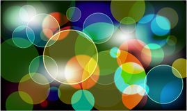 Abtract background lights. Business template Royalty Free Stock Photography