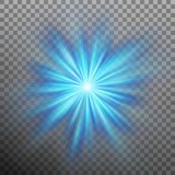 Abtract blue energy with a burst background. EPS 10 vector. Abtract blue energy with a burst background. And also includes EPS 10 vector Stock Photo