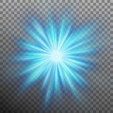 Abtract blue energy with a burst background. EPS 10 vector. Abtract blue energy with a burst background. And also includes EPS 10 vector Stock Image