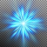 Abtract blue energy with a burst background. EPS 10 vector. Abtract blue energy with a burst background. And also includes EPS 10 vector Royalty Free Stock Photo