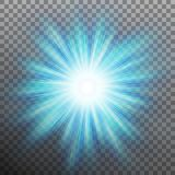 Abtract blue energy with a burst background. EPS 10 vector. Abtract blue energy with a burst background. And also includes EPS 10 vector Royalty Free Stock Photos