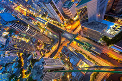 Abtract cityscape Stock Image