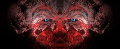 Ancient Eyes Abstract Art Royalty Free Stock Photos