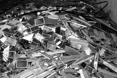 Abtract des Metallabfalls Lizenzfreie Stockfotografie