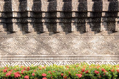 abtract line pattern brickwork Stock Image