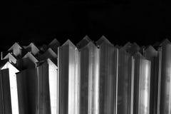 Abtract metal corner Stock Image