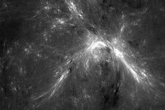 Abtract-Silbergalaxie lizenzfreie abbildung
