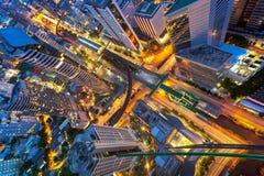 Abtract-Stadtbild Stockbild