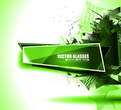 Abtract waves background for brochures and flyers design Royalty Free Stock Photography