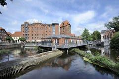 Abtsmuhle, Luneburg, Γερμανία Στοκ εικόνα με δικαίωμα ελεύθερης χρήσης