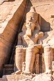abu埃及simbel 库存图片