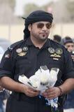 abu警察dhabi顶层 库存图片