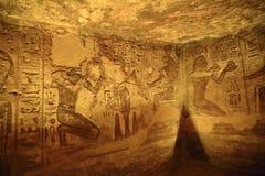 Abu świątynie Simbel Fotografia Royalty Free