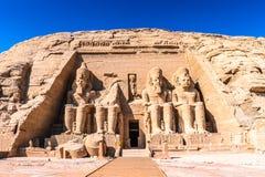 abu Αίγυπτος simbel Στοκ Εικόνες