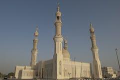 abu Al dhabi迪拜khaimah清真寺ras zayed 免版税库存照片