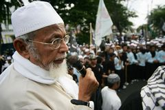Abu Bakar baasyir Lizenzfreie Stockfotos