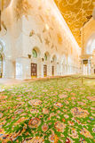 Abu Dabi - JANUARY 9, 2015: Sheikh Zayed mosque Royalty Free Stock Images