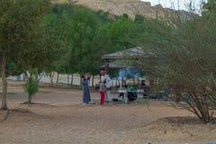 Abu-dabi, Vereinigte Arabische Emirate, 15 11 2015 Völker und Natur S Stockfotografie